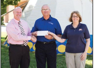 Northwestern Energy donation to new health and family services center