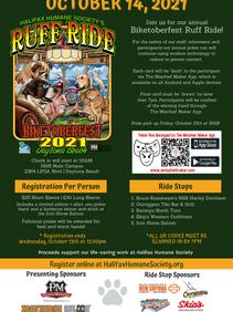 Biketoberfest Ruff Ride 2021