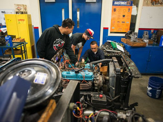 Madison Central School District adds auto mechanics shop to high school building