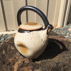 #teapot #tea #kuhnspottery #pottery #potter #clay #ceramics #highfire #wheelthrown #handmade #stonew