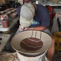 I really enjoy making these large bowls