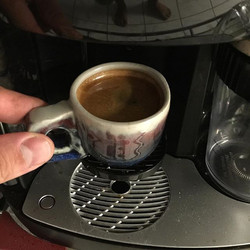 Time for some late night espresso