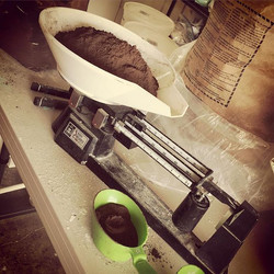 Glaze formulation day! #kuhnspottery #pottery #potter #clay #ceramics #highfire #wheelthrown #handma