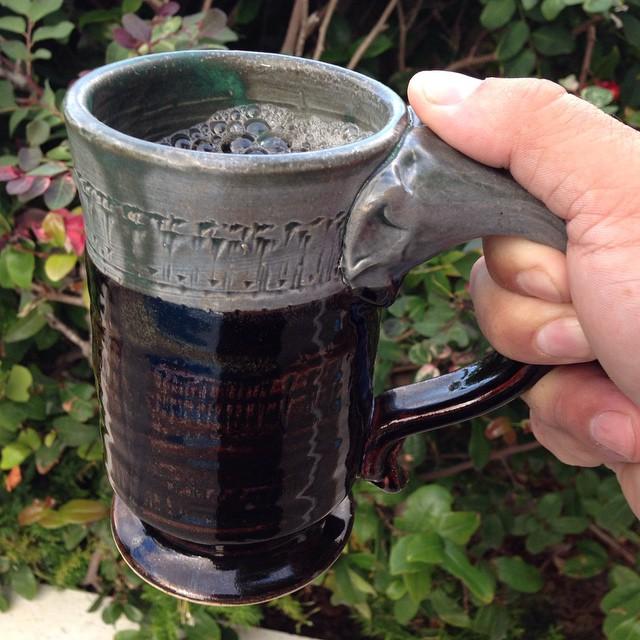 🎶 The best part of waking up is 100% Kona coffee in your cup 🎶 #kona #coffee #konacoffee #mug #mug