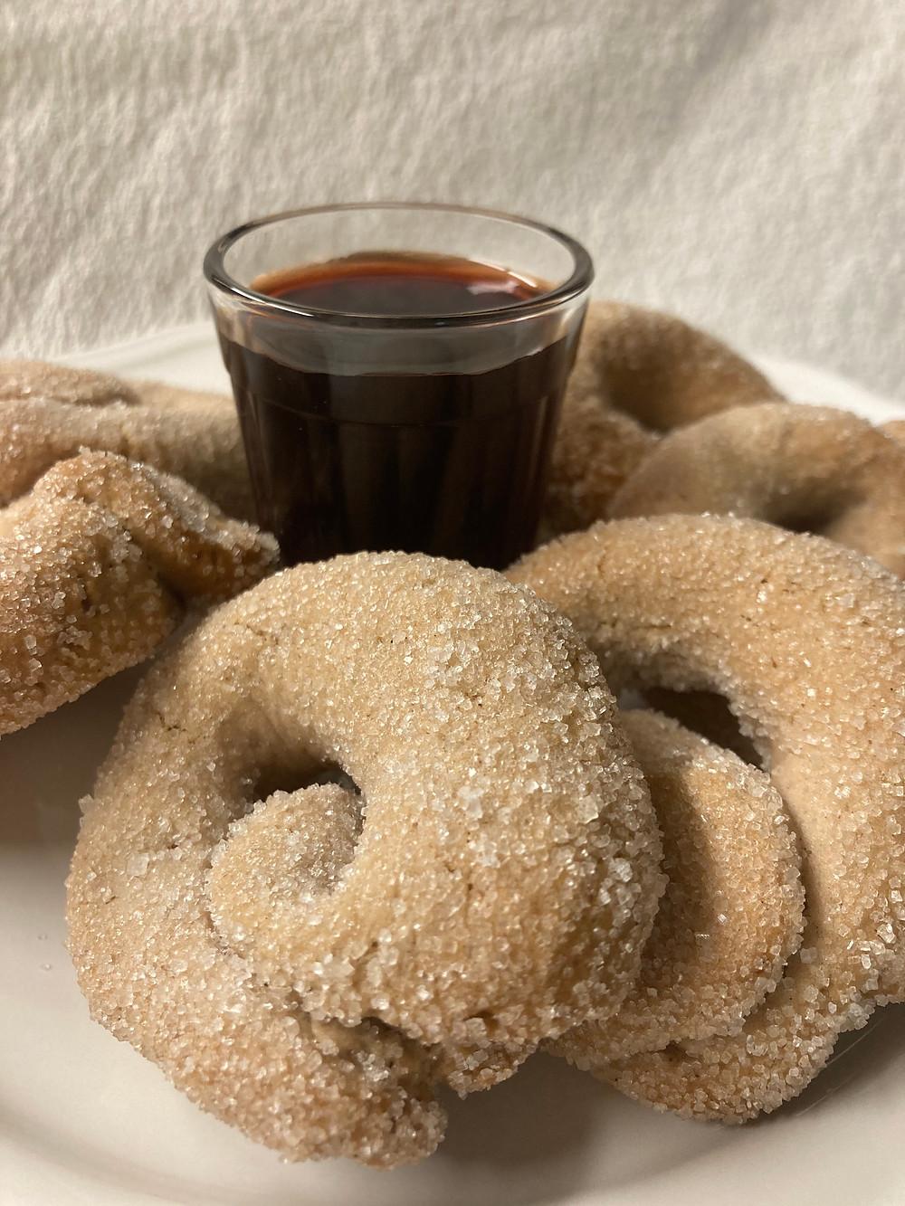 Taralli al Vino Rosso by Grano & Farina Cooking school