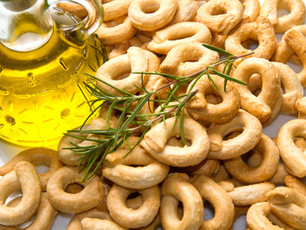 WHITE WINE & OLIVE OIL TARALLI