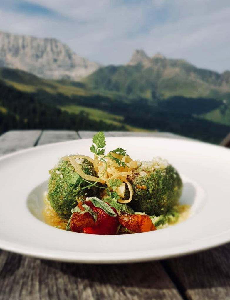 Local recipe from Markus Zallinger, Alpe di Siusi, Trentino Alto Adige