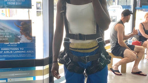 Skydive in paradise for the first time ...