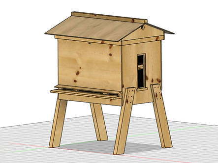 Plans Set: Strout Horizontal Hive with Double Frames