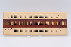 Cribbage Board | Assorted hardwoods