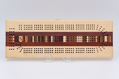Mirrored Cribbage Board