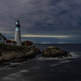 Dark Night | Maine, USA