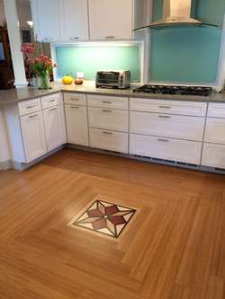 Compass rose | Assorted hardwoods