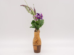 Bud Vase | Maple burl & other woods