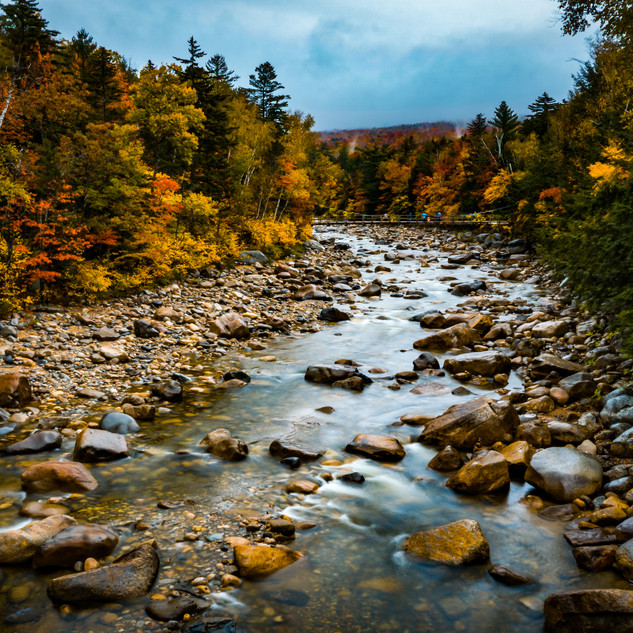 Green Mountains in Autumn | New Hampshire, USA