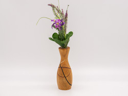 Bud Vase | Black cherry & other woods