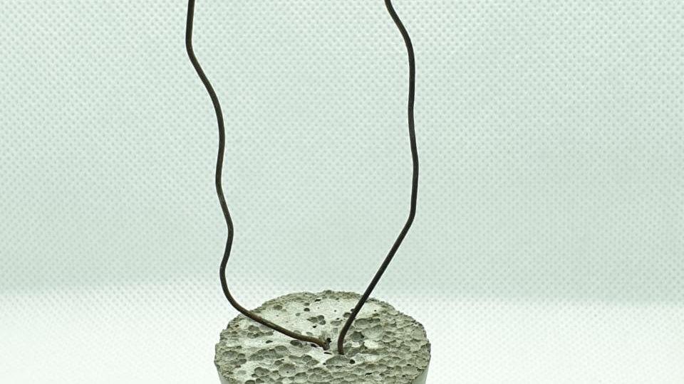 бетонный фиксатор конус с проволокой