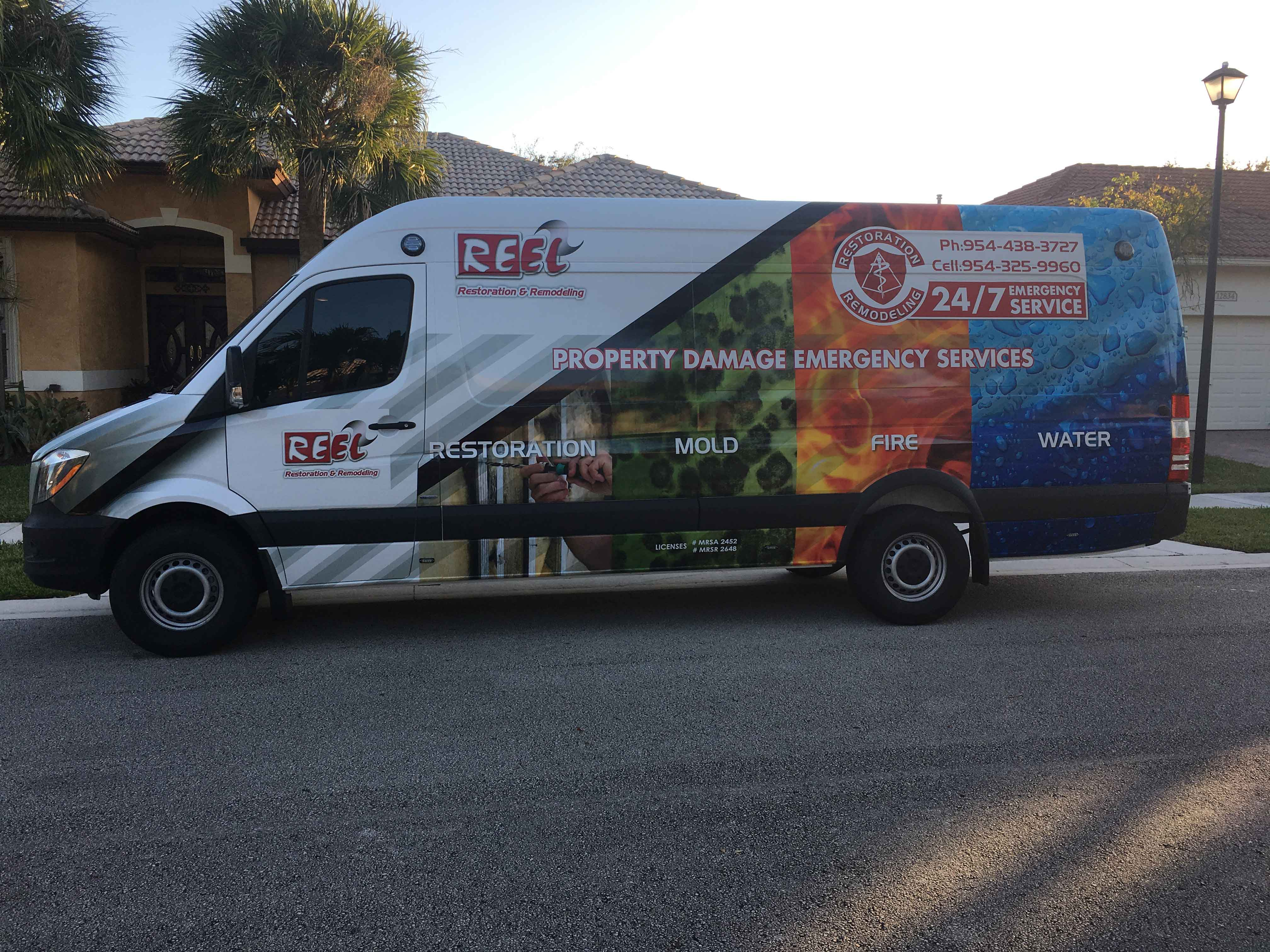 Reel-Contractors-Truck-Commercial-Water-Mold-Fire-Company-Pembroke-Pines-Fl