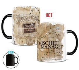 Harry Potter Marauder's Map Morphing Mugs® Heat-Sensitive Mug