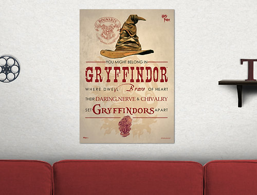 Harry Potter™ (Sorting Hat Gryffindor) MightyPrint™ Wall Art MP17240182 Part 91