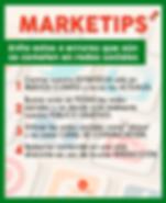 marketips,evitar errores en redes sociales