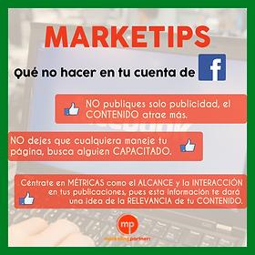 Tips facebook,metricas,consejos,fanpage,alcance,interacción