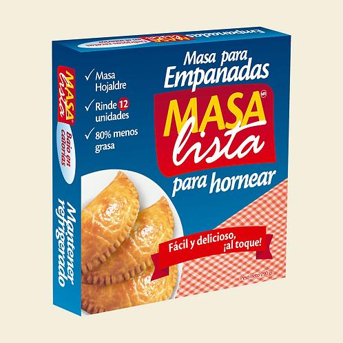 Masa Lista - Masa para hornear empanadas