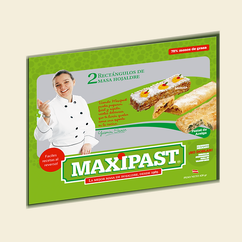 Maxipast - Masa hojaldre para hornear (Bolsa)