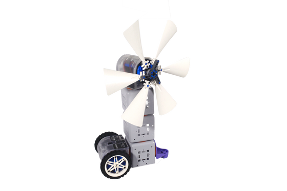 [Project] Control a Windmill Linkbot System with Lego Parts