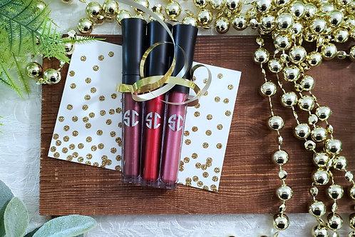Rock & Glam Metallic Lips Holiday Set