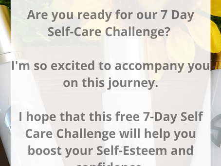 7 Day Self-Care Challenge