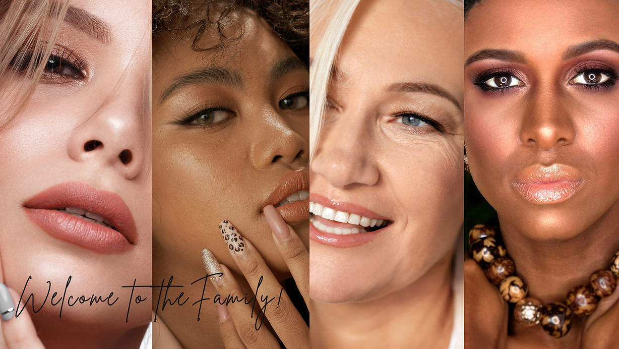 Sound Cosmetics About Us - Welcome to the Family. beauty for all ages, skills and color_
