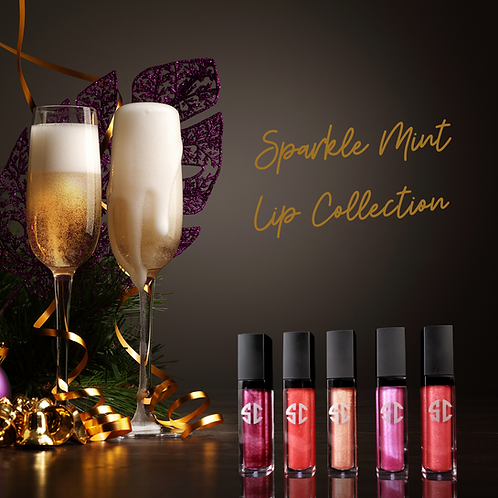 Sparkle Mint Lip Gloss
