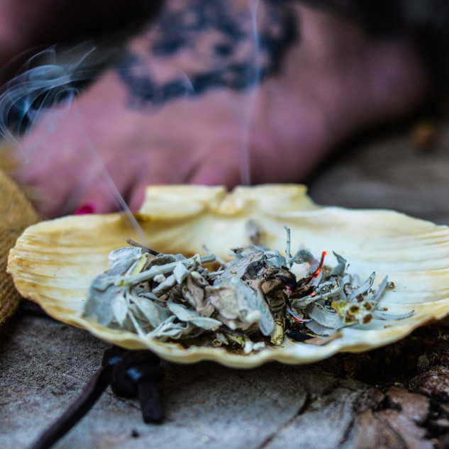 shell with burning herbs.jpg