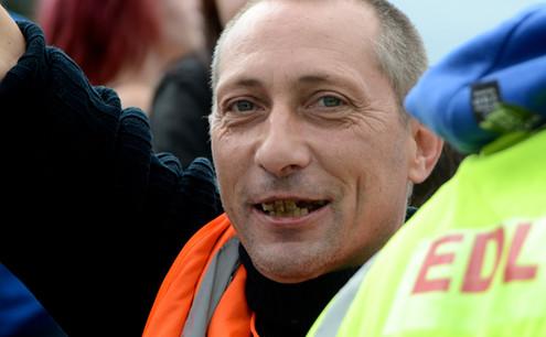 Member of English Defence League, Sheffi