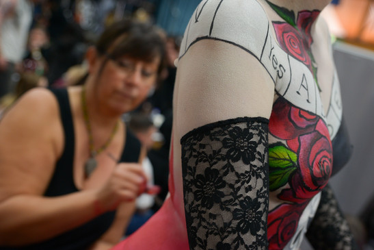Anna Bruce for Ox Tattoo convention 16 (