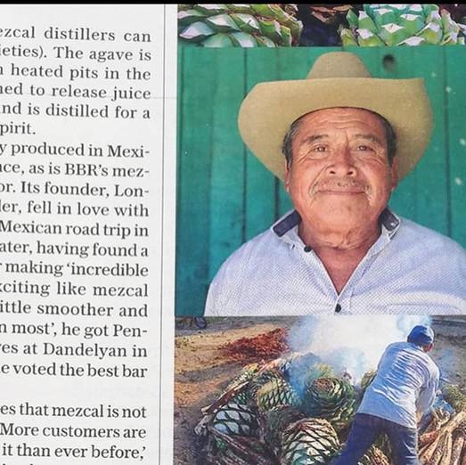 Pensador featured in The Telegraph Maga