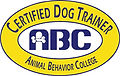 Certified Dog Trainer by ABC