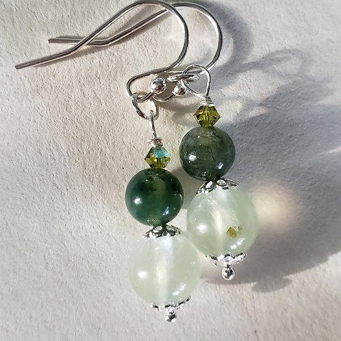 Green Earrings SS