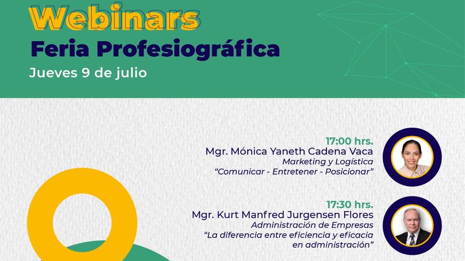 Webinar UPB: Feria Profesiográfica