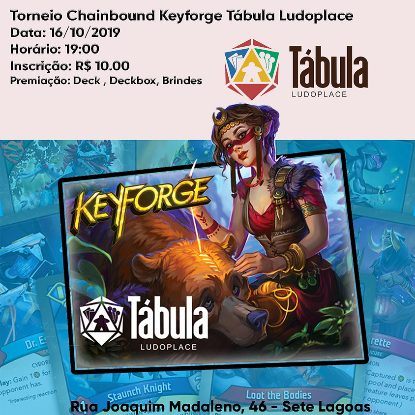 Torneio Semanal Chainbound KeyForge Tábula Ludoplace (1)