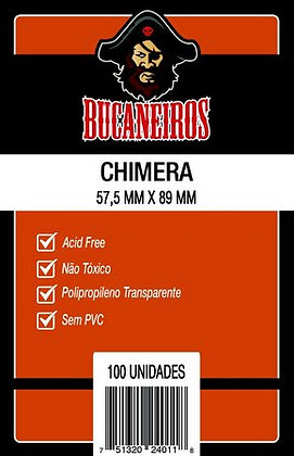 Sleeves Bucaneiros Chimera (57,5 mm x 89 mm)