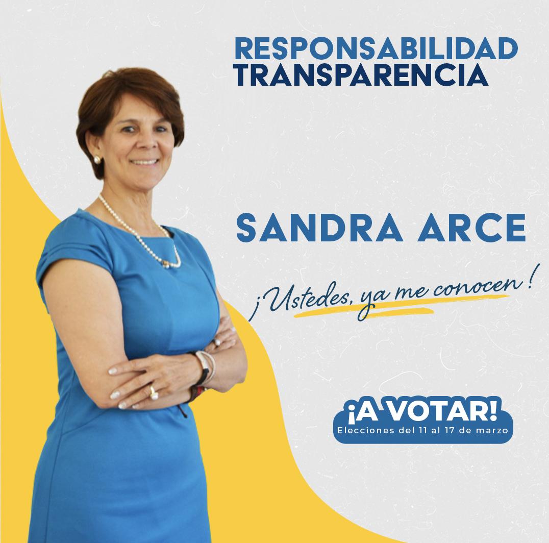 Sandra Arce (Predidencia)