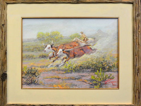 Ride Up Cowboy by Mike Capron