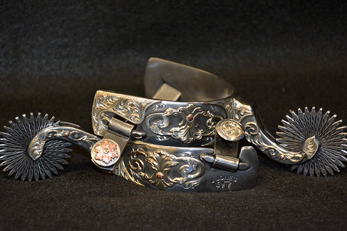 #766 Double-mounted Collector's Spurs by Jayson Jones