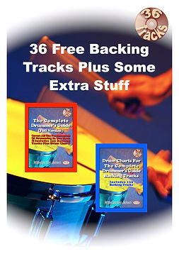 36 Backing Tracks for free booklet cover