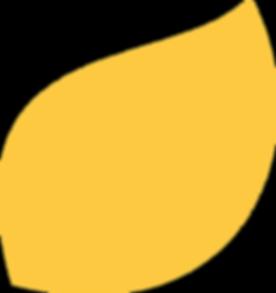 KALEA leaf in orange