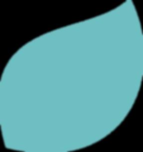 KALEA leaf in blue