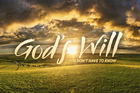 God's Will (Basics)