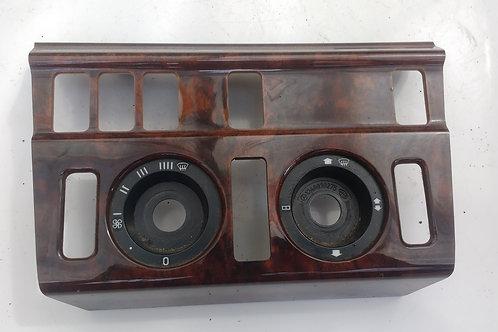 W124 WALNUT WOOD HEATER SURROUND TRIM
